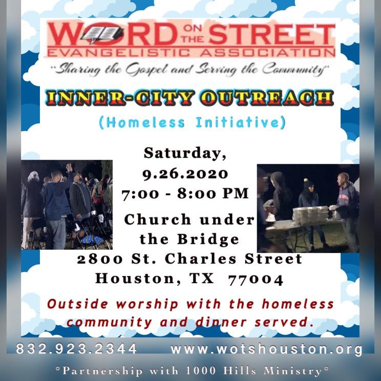 Homeless Initiative, September, 2020